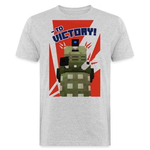 Dalek Mod - To Victory - Men's Organic T-Shirt