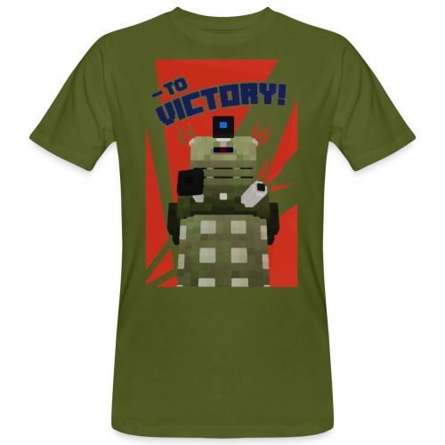 Dalek Mod - To Victory - Men's Organic T-Shirt