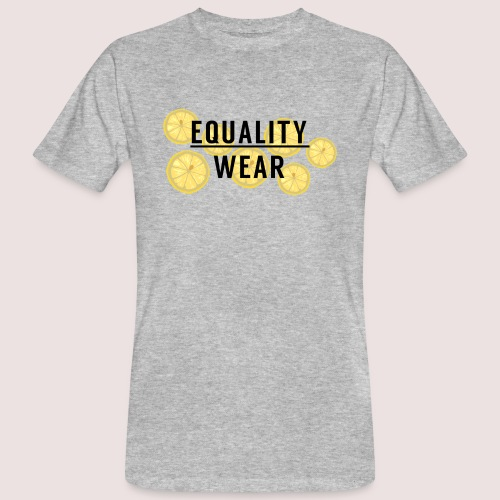 Equality Wear Fresh Lemon Edition - Men's Organic T-Shirt