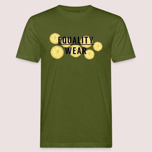 Equality Wear Fresh Lemon Edition - Men's Organic T-Shirt