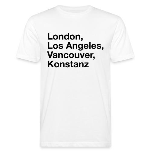Konstanz Notstand - Männer Bio-T-Shirt