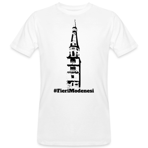 #FieriModenesi - T-shirt ecologica da uomo
