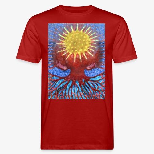 Niebiańskie Drzewo - Ekologiczna koszulka męska
