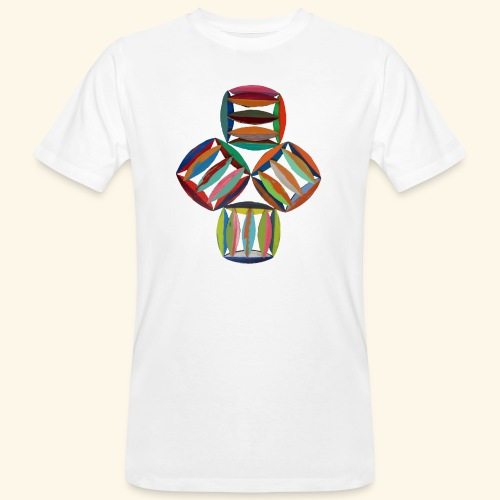square2square - Mannen Bio-T-shirt