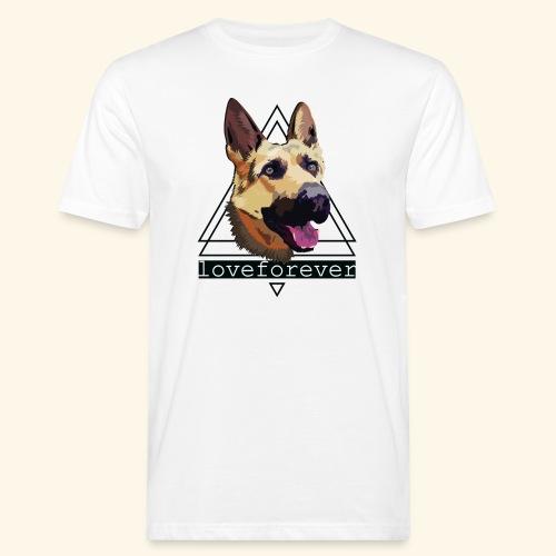 SHEPHERD LOVE FOREVER - Camiseta ecológica hombre
