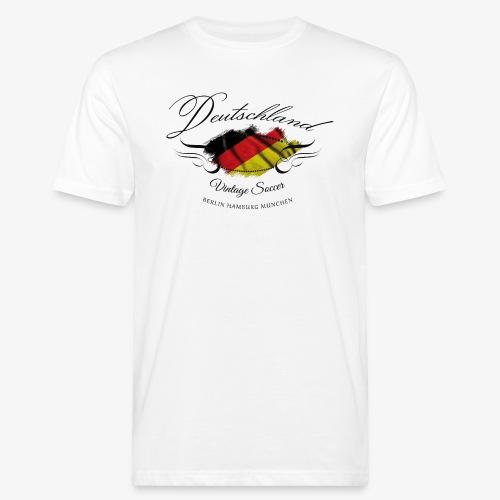 Vintage Deutschland - Männer Bio-T-Shirt