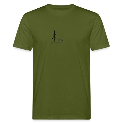 Landscape camping 2 - T-shirt ecologica da uomo