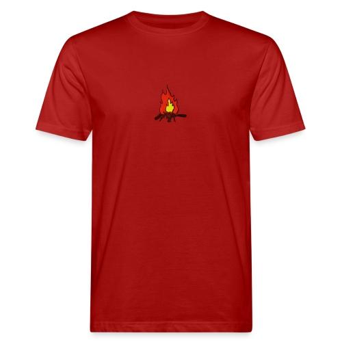 Fire color fuoco - T-shirt ecologica da uomo