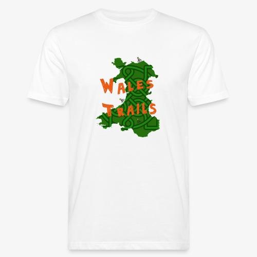 Wales Trails - Men's Organic T-Shirt