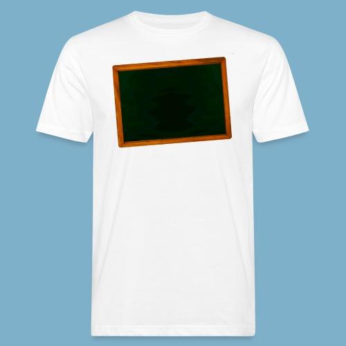 Schul Tafel - Männer Bio-T-Shirt