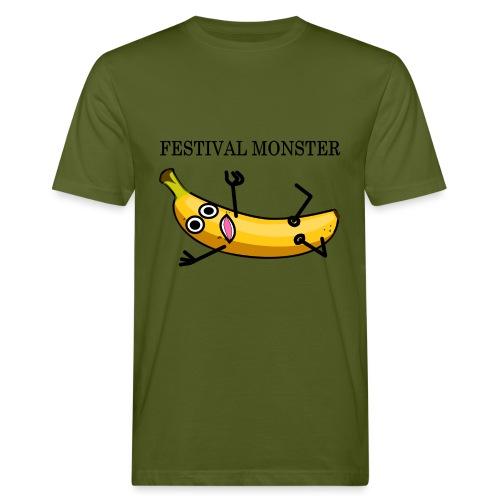 Festival Banane - Männer Bio-T-Shirt