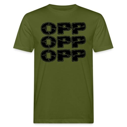 OPP Print - Miesten luonnonmukainen t-paita
