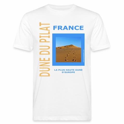 Dune du Pilat 2020 - La plus haute dune d'Europe - T-shirt bio Homme