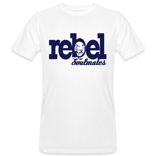 REBEL SOULMATES - Men's Organic T-Shirt