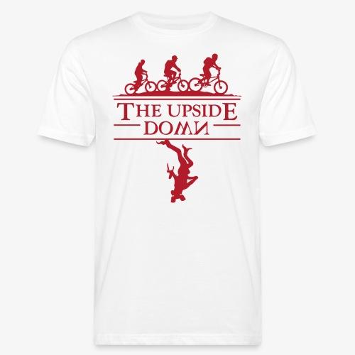 upside down - Ekologiczna koszulka męska