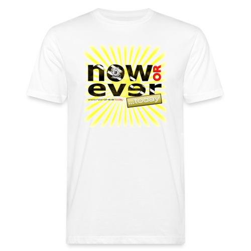 dielux now or ever white - Männer Bio-T-Shirt