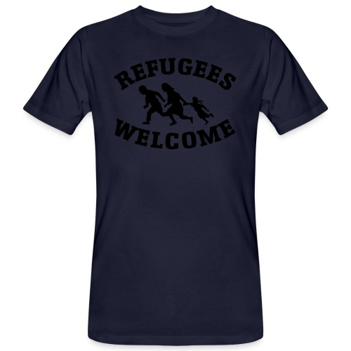 Refugees Welcome - T-shirt bio Homme