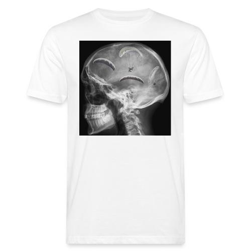 Paragliding im Kopf - Männer Bio-T-Shirt