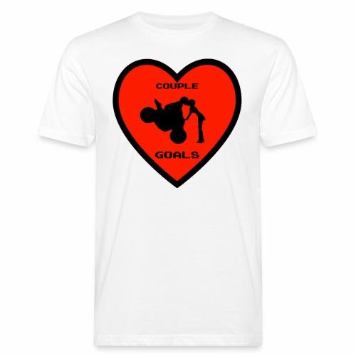 Couple Goals <3 - T-shirt ecologica da uomo
