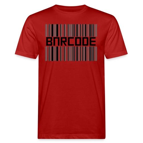 BARCODE WHITE - Men's Organic T-Shirt