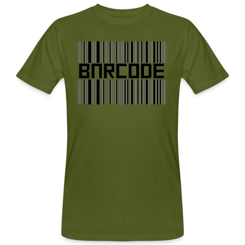 BARCODE WHITE - Men's Organic T-Shirt