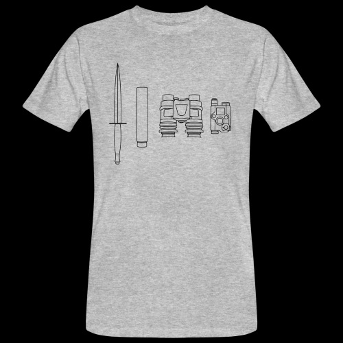 SOPMOD schwarz - Männer Bio-T-Shirt
