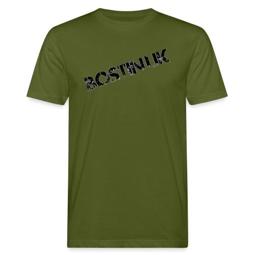 Bostin uk white - Men's Organic T-Shirt