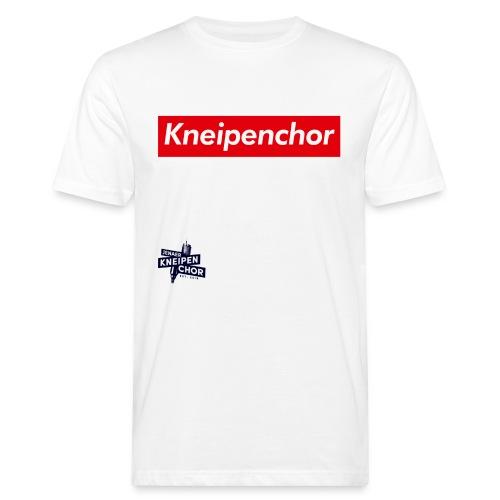 05 Jenaer Kneipenchor Schriftzug - Männer Bio-T-Shirt