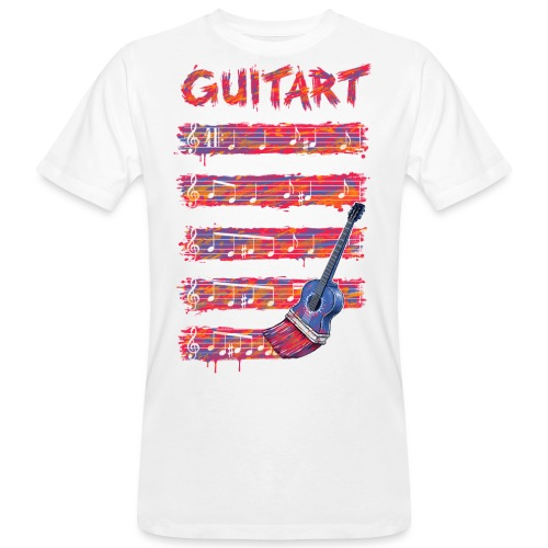 GuitArt - Men's Organic T-Shirt