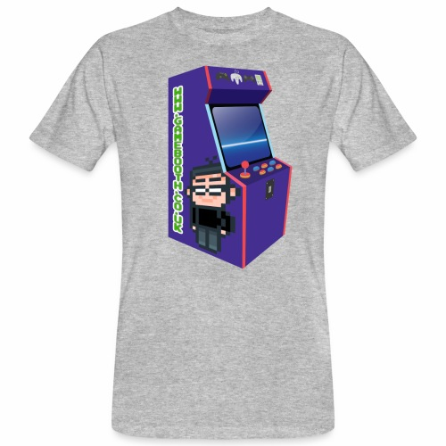 Game Booth Arcade Logo - Men's Organic T-Shirt