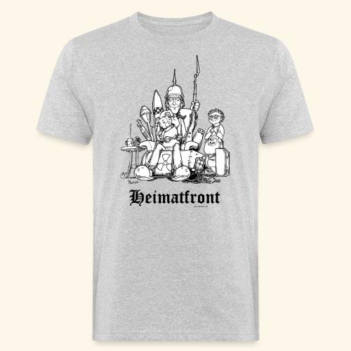 Heimatfront Mama Heimat Waffen Sohn Muttersöhnchen - Männer Bio-T-Shirt