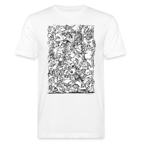 FRTZN Alphabet BLOCK - Männer Bio-T-Shirt