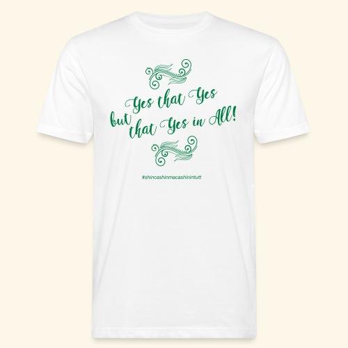 yesthatyes - T-shirt ecologica da uomo