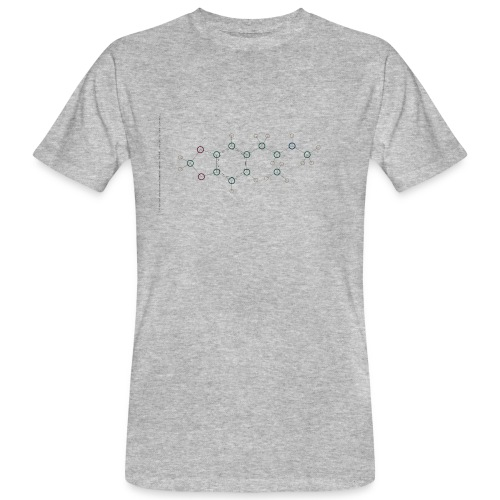 Molecuul MDMA - 'Where is Molly?' - Mannen Bio-T-shirt
