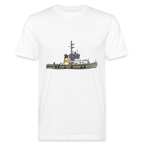 Schlepper Schleppschiff c - Männer Bio-T-Shirt