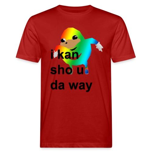 uganda - Miesten luonnonmukainen t-paita