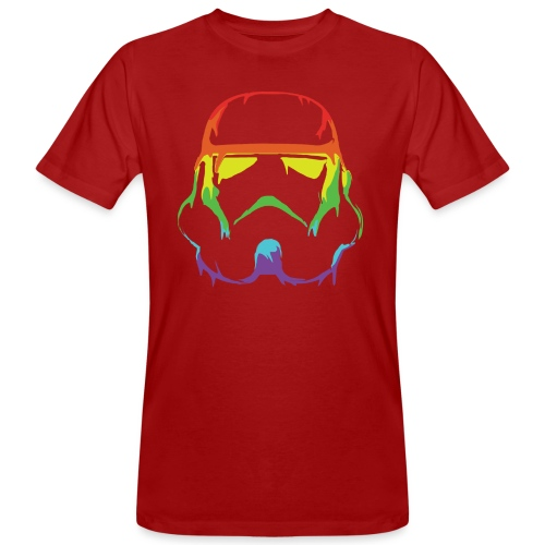 Pride Trooper - simple - Miesten luonnonmukainen t-paita