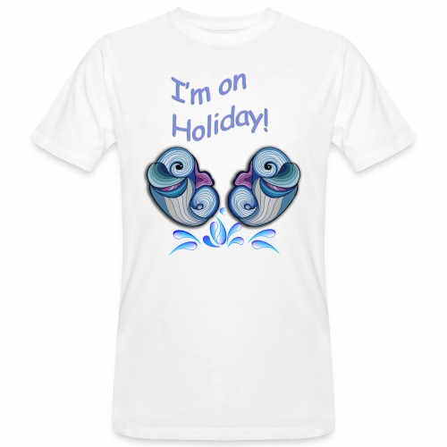I'm on holliday - Men's Organic T-Shirt