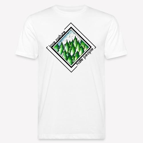 Love Nature - Männer Bio-T-Shirt