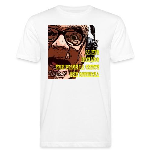Caro Carlo mio somaro - T-shirt ecologica da uomo