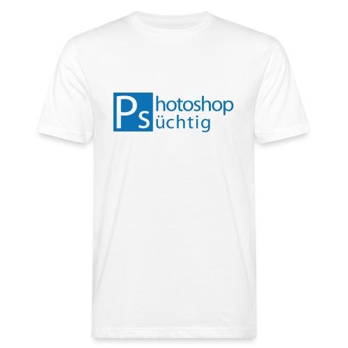 Logo_Photogr - Männer Bio-T-Shirt