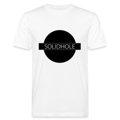 The Solid Hole logotype - Men's Organic T-Shirt