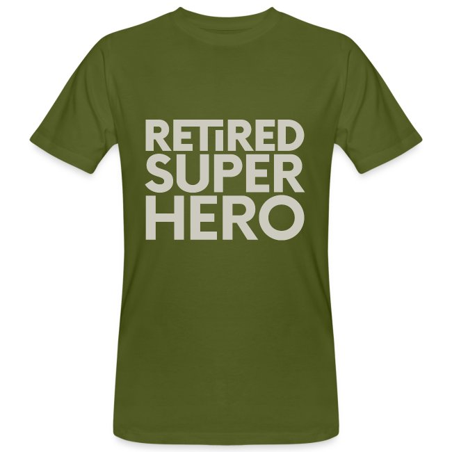 retired superhero