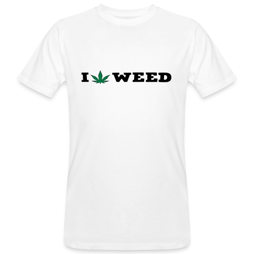 I LOVE WEED - Men's Organic T-Shirt