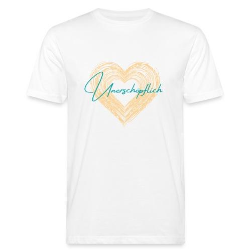 Unerschöpflich - Männer Bio-T-Shirt
