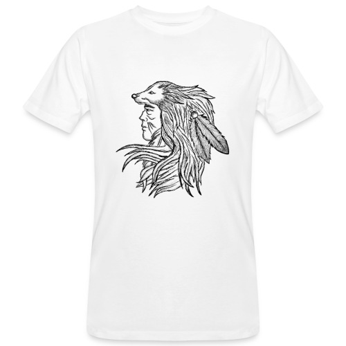 Native American - T-shirt ecologica da uomo
