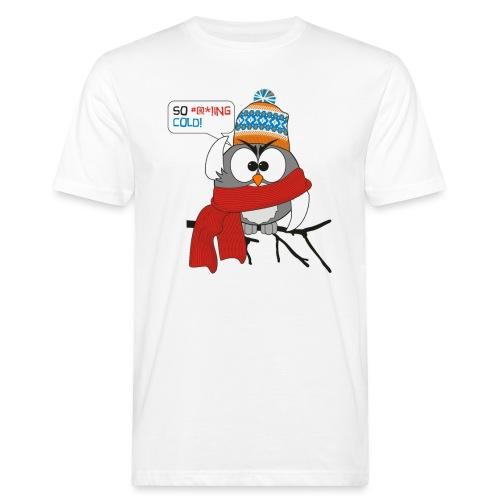 Cold bird - Miesten luonnonmukainen t-paita