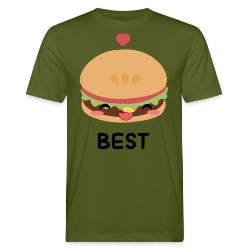 hamburger - T-shirt ecologica da uomo