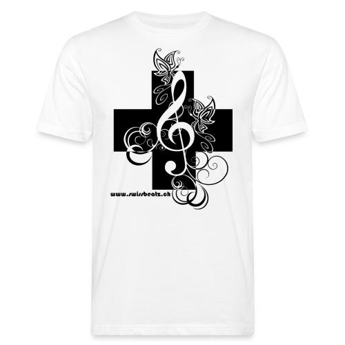 Swiss Beatz Logo non L - Männer Bio-T-Shirt