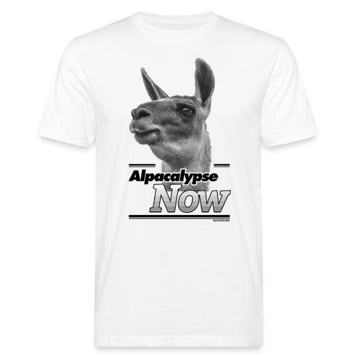 alpacalypsefinal png - Männer Bio-T-Shirt